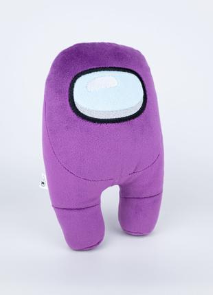 Мягкая игрушка Weber Toys космонавт Among Us 20см фиолетовый