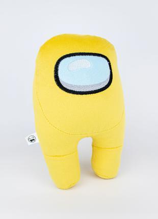 Мягкая игрушка Weber Toys космонавт Among Us 20см жёлтый