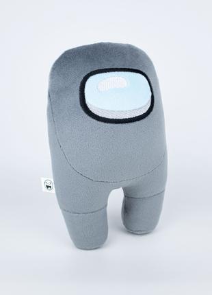 Мягкая игрушка Weber Toys космонавт Among Us 20см серый