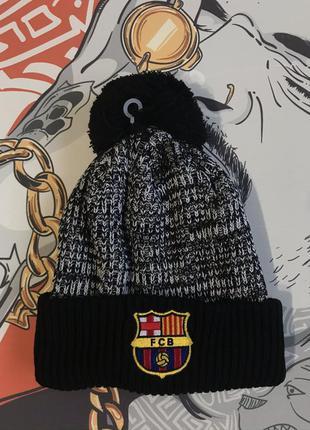 Шапка для фанатов фк барселона futbol club barcelona