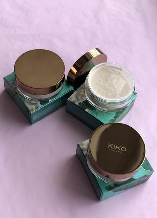 Пудра для обличчя unexpected paradise loose powder від kiko mi...