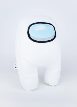 Мягкая игрушка Weber Toys космонавт Among Us 20см белый