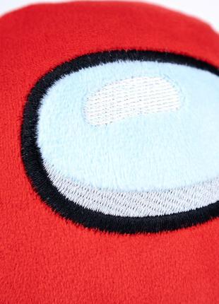 Мягкая игрушка Weber Toys космонавт Among Us 20см красный