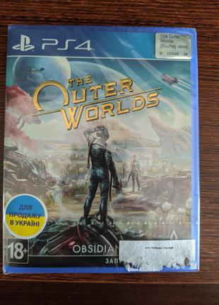 The outer worlds , ps4