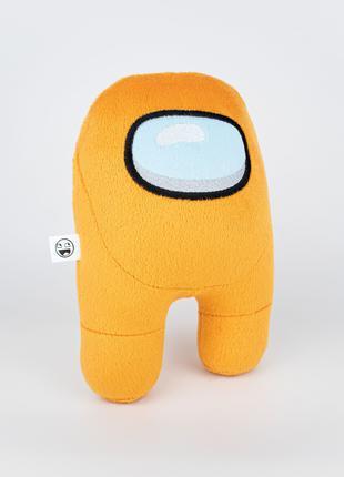 Мягкая игрушка Weber Toys космонавт Among Us 20см оранжевый