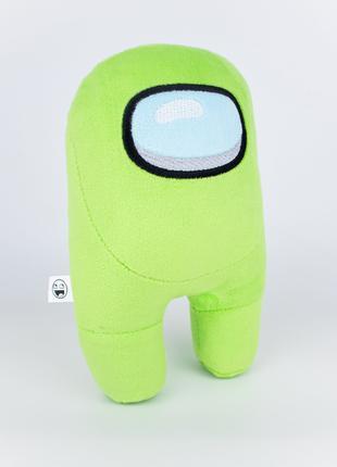 Мягкая игрушка Weber Toys космонавт Among Us 20см зелёный