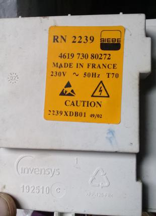 Плата стиральной машины RN 2239 461973080272 Whirlpool AWT 2284