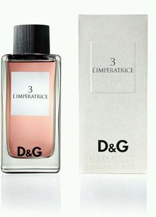 Женская парфюмированная вода Dolce & Gabbana 3 L`Imperatrice
