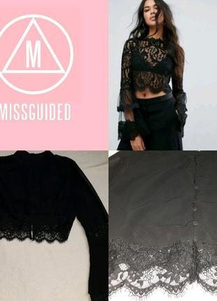 Блуза с рукавами клёш Misguided p.34 XS
