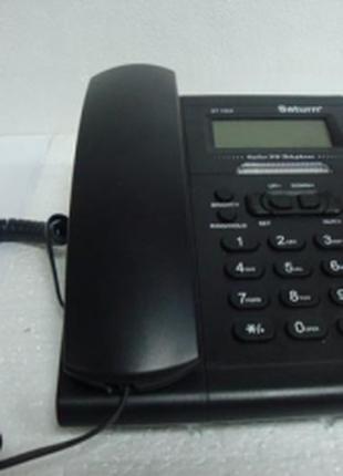 Настольный телефон saturn st 1504