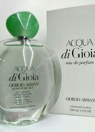 Женская парфюмированная вода Giorgio Armani Acqua di Gioia