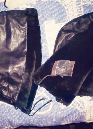 Продам Капюшоны кожаные с мехом