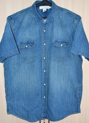 Сорочка джинсова H&M original XL б.в. Y11-L2-5