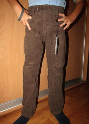 Брюки штаны базовые вельвет 158-164, два цвета, венгрия