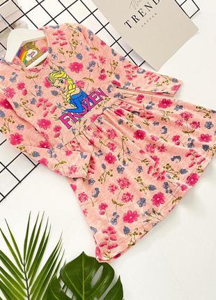 Платье для девочки 3-10 лет