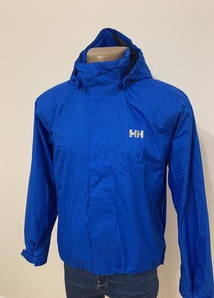 Куртка ветровка hh helly hansen оригинал синяя
