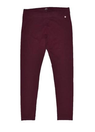 Бордовые спортивные штаны лосины active limited от tcm tchibo