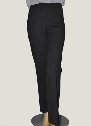 Черные штаны брюки со стрелками на резинке lavelle