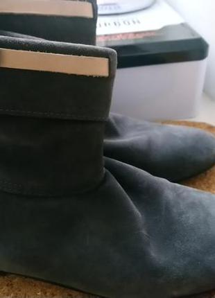 Fabio rusconi ботинки ,натуральная замша .