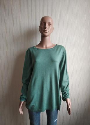 Мужской тонкий свитер в составе кашемир tom tailor размер xl