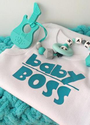 Family look подарок новорожденному: именной грызун + плед ручн...