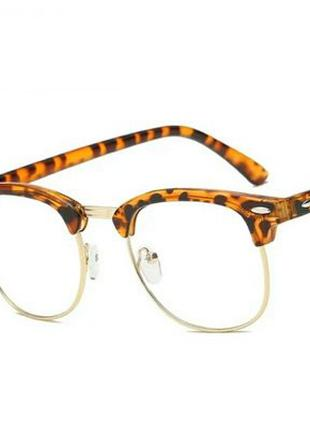 Очки для зрения с диоптриями -3.5 близорукость в стиле ray