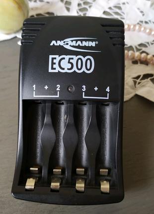 Зарядное Ansmann EC500 батарейки ААА, АА мизинчиковые пальчиковые