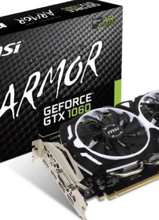 MSI GeForce GTX 1060 Armor OC V1 3GB 1544MHz (Новая)