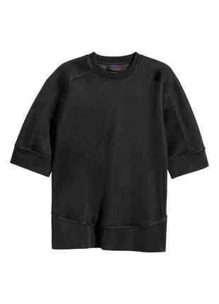 Черный свитшот h&m !