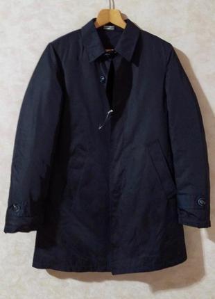 Стильный плащ с подстежкой, куртка пальто dry&co, s, италия
