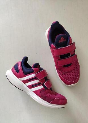 Adidas розовые кроссовки на липучках