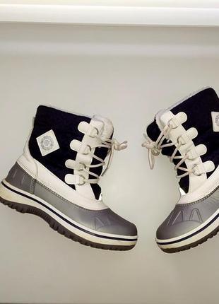Зимние термо ботинки, сапоги pepperts, размер 32, стелька 21 см.