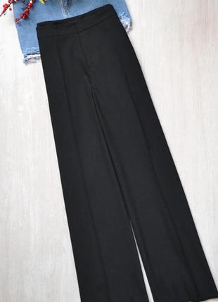 Широкие классические брюки zara woman