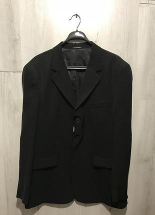 Мужской чёрный классический костюм richter 089 (52)