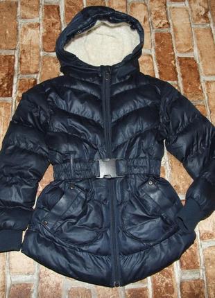 Куртка теплая 6 лет девочке