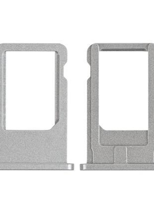Держатель SIM-карты (Лоток) для iPhone 6 белый
