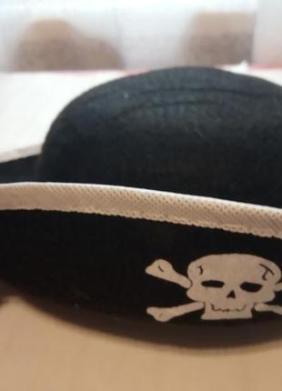 Карнавальная шляпа пират