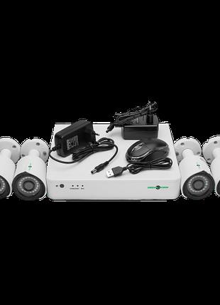 Комплект видеонаблюдения GreenVision GV-K-G02/04 720Р