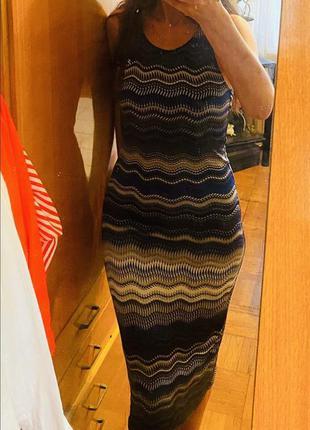 Платье missoni оригинал etro versace fendi zimmermann marant