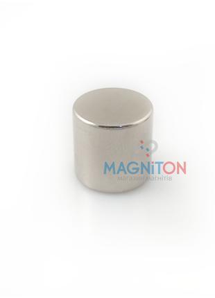 Неодимовый магнит, диск 15х15 мм