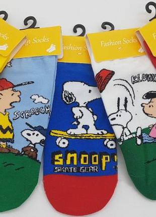 Стильные носки с рисунками. упаковка 5 пар!