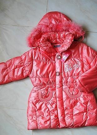 Модное пальто на девочку .Весна