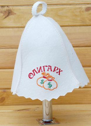Шапка/шляпа/панама для бани/сауны/спа олигарх