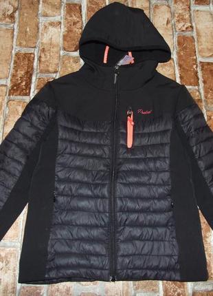 Куртка девочке на флисе 10 лет