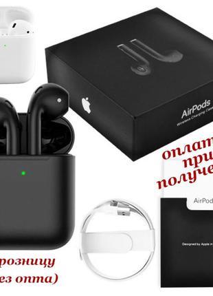 Беспроводные вакуумные Bluetooth наушники СТЕРЕО Apple AirPods...