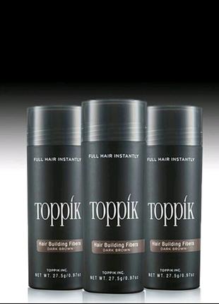 Toppik кератиновый загуститель для волос