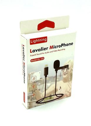 Микрофон - петличка Deepbass GL-120 Lightning