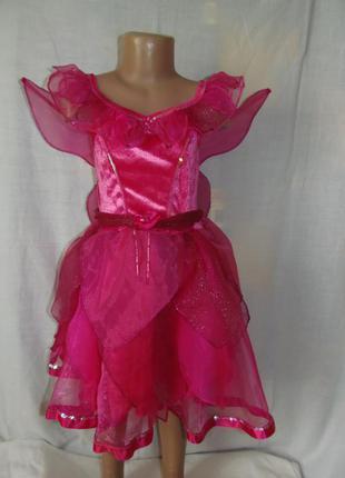 Платье феи,бабочки на 7-8 лет