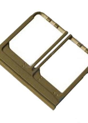 Держатель SIM-карты (Лоток) для HTC One M8 Dual SIM / M8e / M8s н