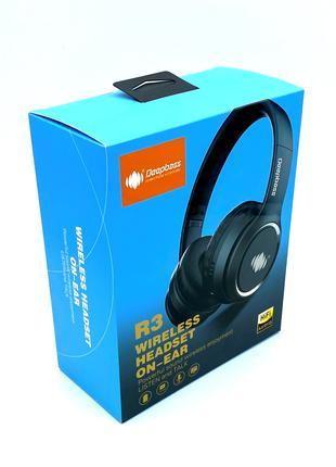 Наушники Bluetooth беспроводные DEEPBASS R3 Black